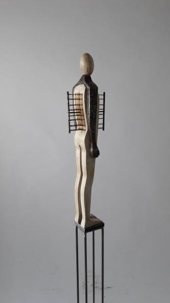 Escultura fusta i ferro_4